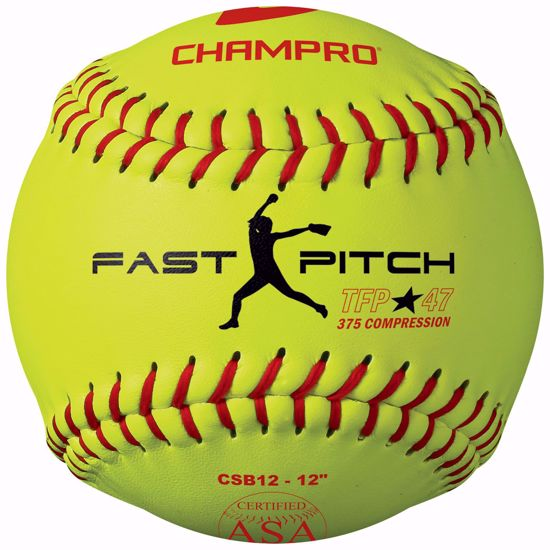 "Picture of Champro ASA 12"" Tournament Fast Pitch"
