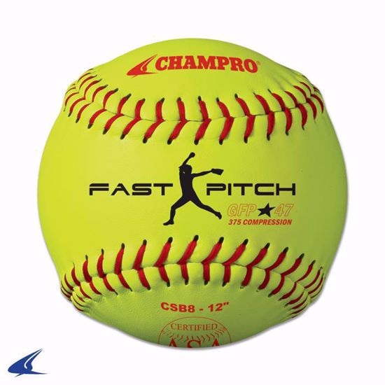 """Picture of Champro ASA 12"""" Game Fast Pitch"""