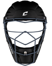 Picture of Optimus Pro Rubberized Matte Finish Hockey Style Catcher's Headgear Youth 6 1/2-7 BLACK