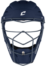 Picture of Optimus Pro Rubberized Matte Finish Hockey Style Catcher's Headgear Youth 6 1/2-7 NAVY