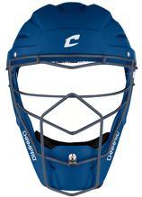 Picture of Optimus Pro Rubberized Matte Finish Hockey Style Catcher's Headgear Adult 7-7 1/2 ROYAL