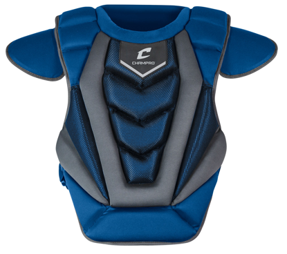 "Picture of Optimus Pro Chest Protector Intermediate 15.5"" ROYAL"