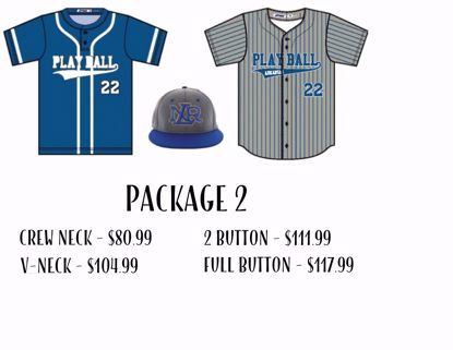 Picture of Baseball Uniform Package 2