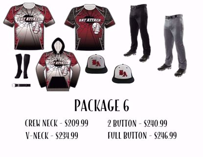 Picture of Baseball Uniform Package 6