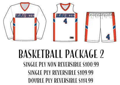 Picture of Basketball Uniform Package 2