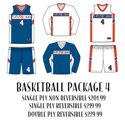 Picture of Basketball Uniform Package 4