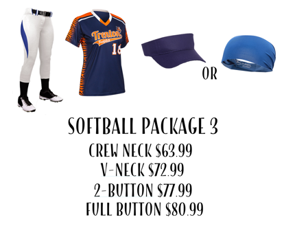 Picture of Softball Uniform Package 3