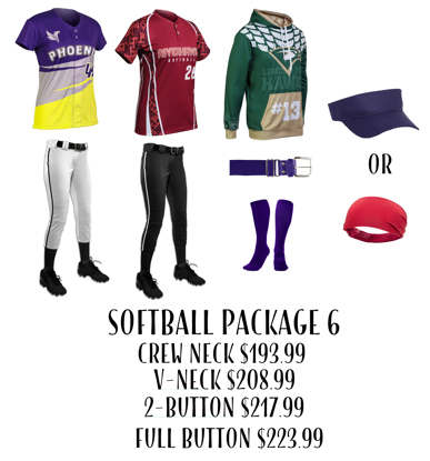 Picture of Softball Uniform Package 6