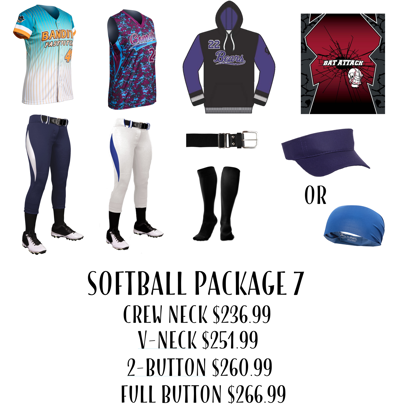 Picture of Softball Uniform Package 7