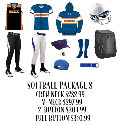 Picture of Softball Uniform Package 8