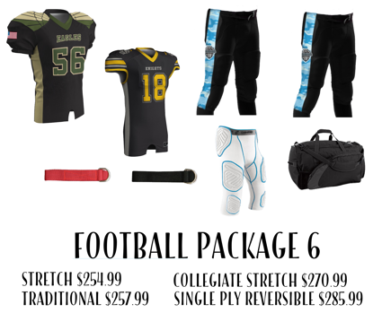 Picture of Football Uniform Package 6